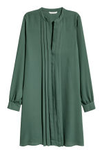 V-neck dress - Dark green - Ladies | H&M 2